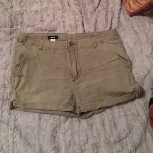 Green urban outfitters shorts